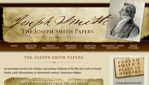The Joseph Smith Papers website