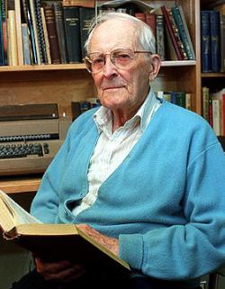 Hugh Nibley in 2000