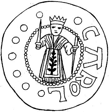 Coin of Charles the Great (ca. 742-814 A.D.)