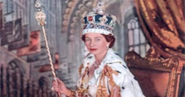 Coronation of Queen Elizabeth II on June 2, 1953