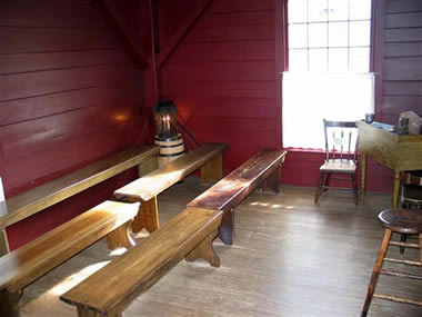 The School of the Prophets was held in an upper room of the Whitney Store in Kirtland, Ohio