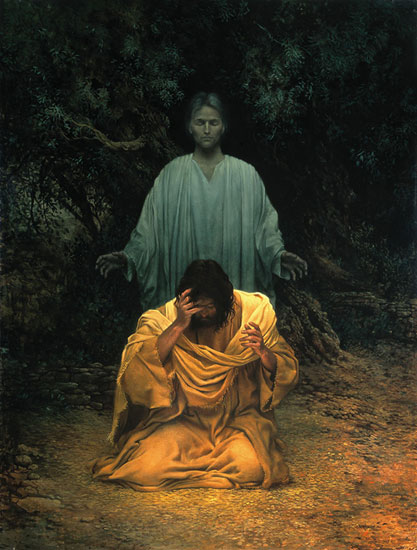 Gethsemane - James C. Christensen (1984)