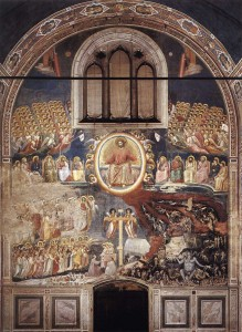 Last Judgment by Giotto in Scrovegni Chapel, Italy (click for larger view)
