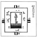 The House of Life in Papyrus Salt 825 (click for a larger view)