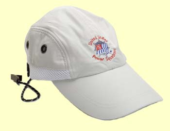 Boater's Cap with cord clip