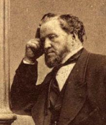 Brigham Young - June 1, 1871 - 70th birthday