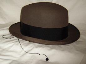 eBay Homburg hat with lapel cord