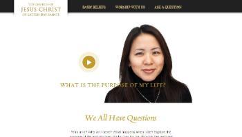 New Mormon.org Homepage