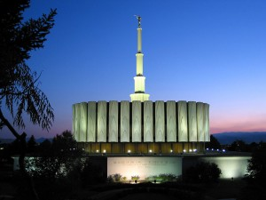 Provo Utah Temple. © 2003, Rick Satterfield. LDSChurchTemples.com. Used with permission. (Click for a larger view)