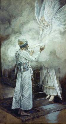 The Vision of Zacharias, James Tissot, 1899