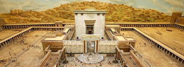 A retired farmer spent 30 years building this massive model of Herod's Temple