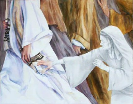 Touching the Hem of Jesus