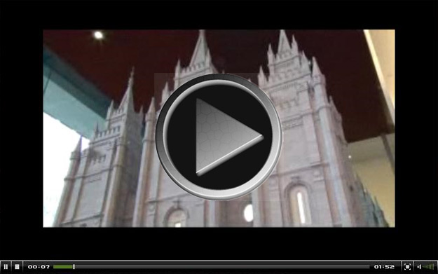 Video of the Scale Model of the Salt Lake Temple