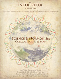 PDF Flyer for Science & Mormonism Symposium